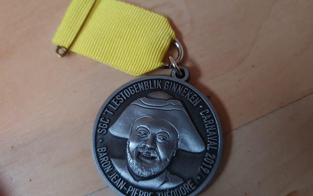 Medaille 2019 Jean-Pierre